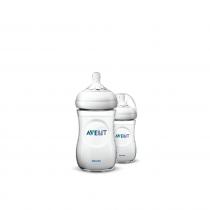Philips Avent Natural Bottle 2.0 (9oz/260ml x 2 Bottles)