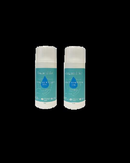 Disney Cuties Twin Pack Hand Sanitizer Gel 50ml-75% Alcohol