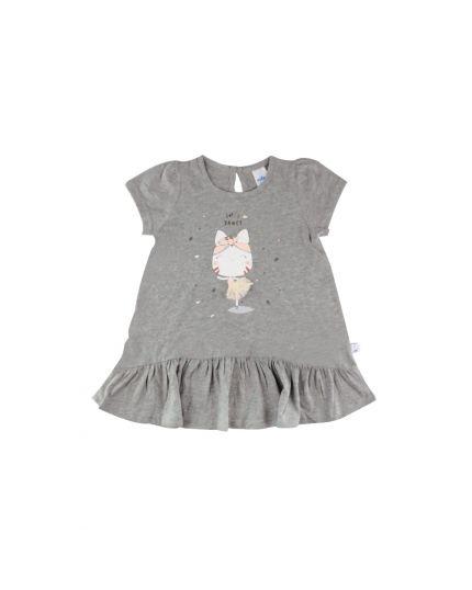 Fiffy Girl Baby Wear Dress - Grey (2321038)
