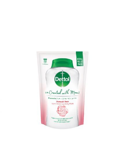 Dettol Co-Created with Mom Shower Gel Refill Rose - 450g