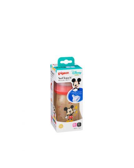 Pigeon SofTouch™ Wide Neck PPSU Nursing Bottle Disney Mickey - 160ml