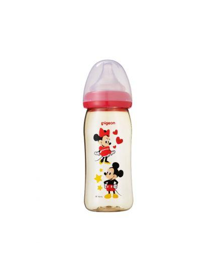 Pigeon SofTouch™ Wide Neck PPSU Nursing Bottle Disney Mickey - 240ml
