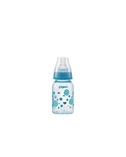 Pigeon Flexible™ Nursing PP Bottle (Slim-Neck) -  120ml (Circles Design)