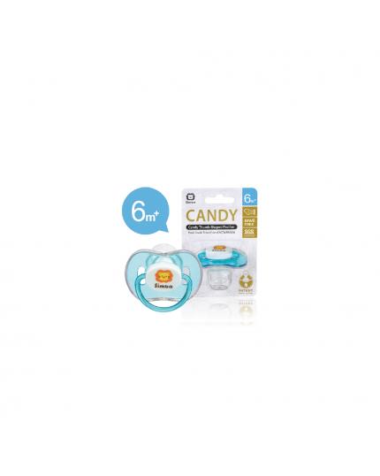 Simba Candy Thumb Shape Pacifier - Blue