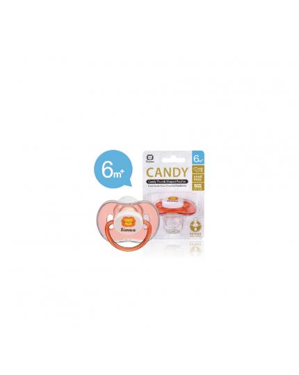 Simba Candy Thumb Shape Pacifier - Pink