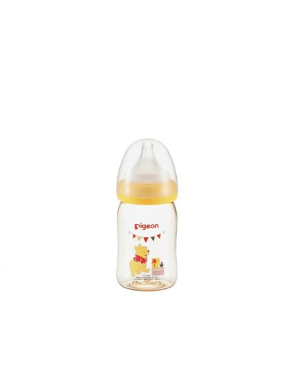Pigeon SofTouch™ Wide Neck PPSU Nursing Bottle Disney Winnie Pooh - 160ml