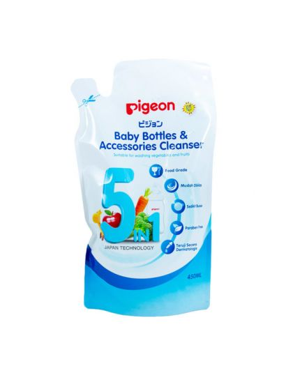 Pigeon Baby Bottle & Accessories Cleanser Refill Pack (450ml)