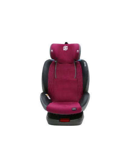 Sweet Cherry Group 0+,1,2,3 Conrad ISOFIT Car Seat Maroon(Model: YB102A)
