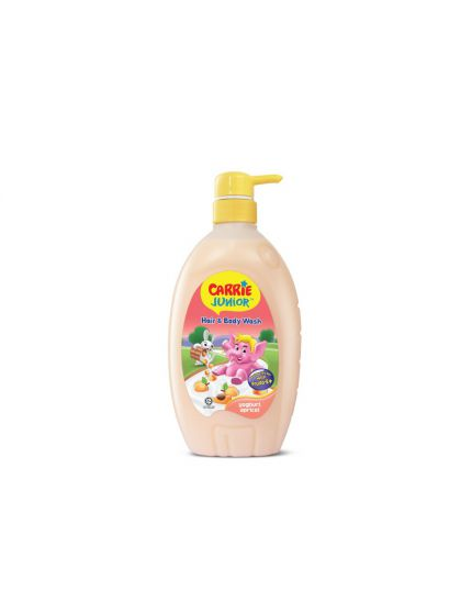 Carrie Junior Baby Hair & Body Wash (700g) - Assorted Flavour