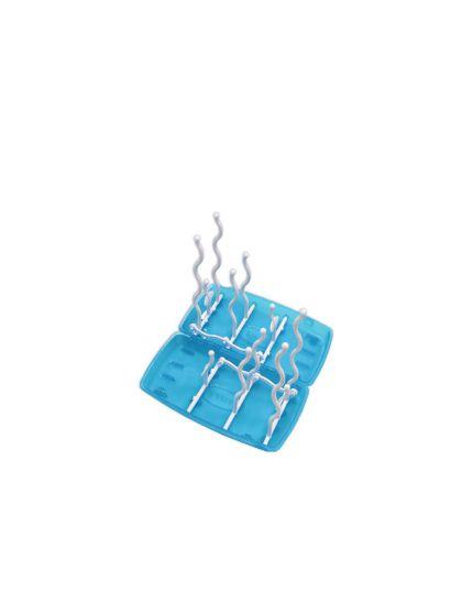 Fiffy Bottle Drying Rack Foldable - Blue