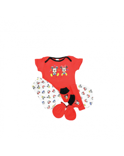 Anakku Disney Boy Newborn 5 In 1 Giftset - (120063-1(004)