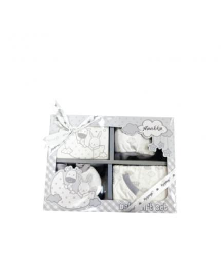Anakku Unisex Newborn 5 In 1 Giftset - (120095-1(004)