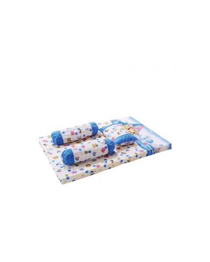 Baby Love 4 In 1 Mattress Set Pillow&Bolster (Model Number Bl2880)