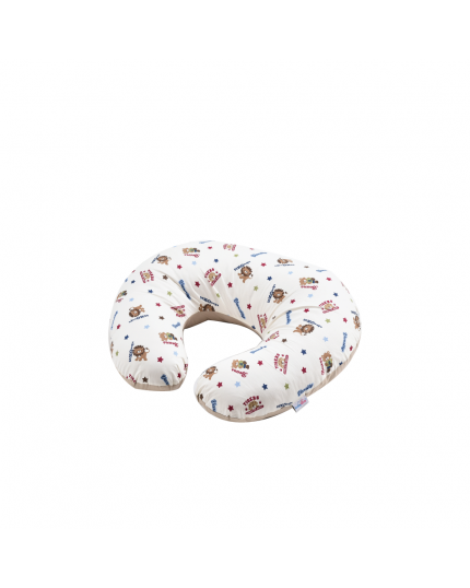 Baby Love Premium Nursing Pillow - Animals Star (Model: 4982)