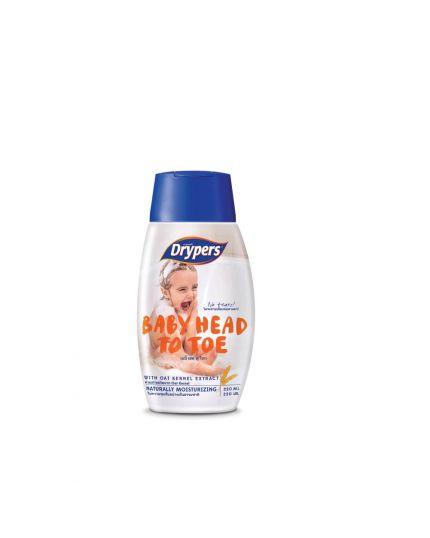 Drypers Baby Head To Toe (220ml)