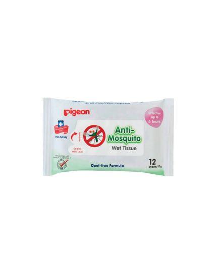 Pigeon Wet Tissues – Anti-mosquito  12'S