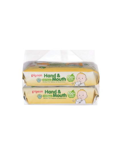 Pigeon Wet Tissues – Hand and Mouth  60'S x 2