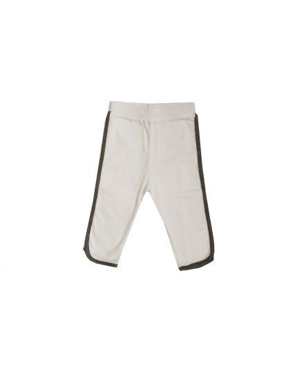Baby Hippo Unisex Basic Collection Long Pant - White/Melange (HTB0121-15002)