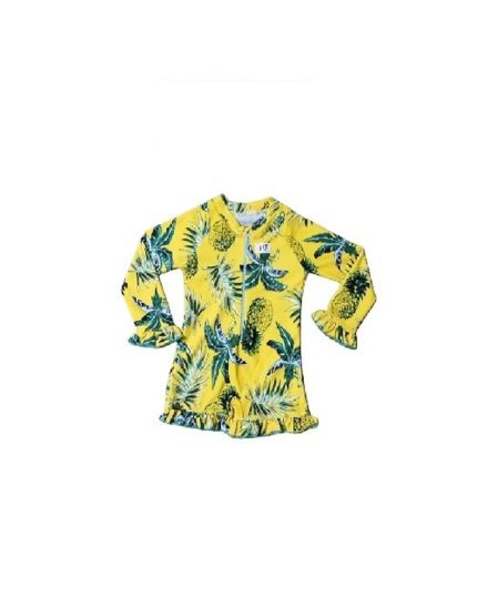 Baby Hippo Swimwear Girl Collection - Yellow (HTS0920-69007)