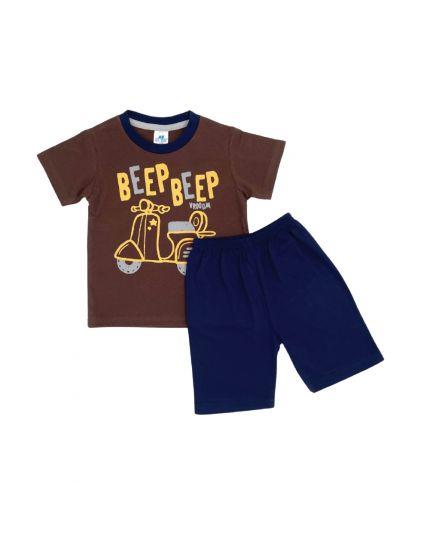 Anakku Boy Suit Set Brown (K3-4221-A)