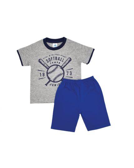 Anakku Boy Suit Set Grey (K3-4221-D)