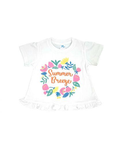 Anakku Girl Suit Set White (K3-4222-B)