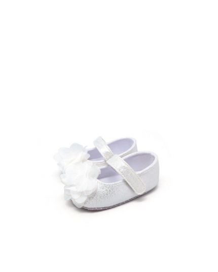 Kidee Baby Shoes - Silver (KD-BB005-2)