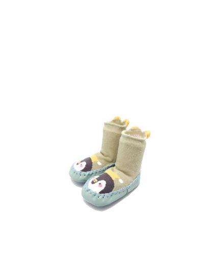 Kidee Baby Socks Shoes - Green Penguin ( KD-BS002-3 )
