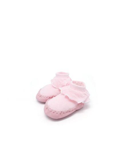 Kidee Baby Socks Shoes - Pink ( KD-BS004-1 )
