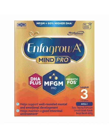 Enfagrow A+ MindPro Milk Formula Powder Step 3 - 600G