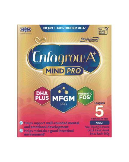 Enfagrow A+ MindPro Milk Formula Powder Step 5 - 600G
