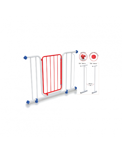 My Dear Deluxe Baby Safety Gate 9003D with 2 Extension Bar (Model: 32002)