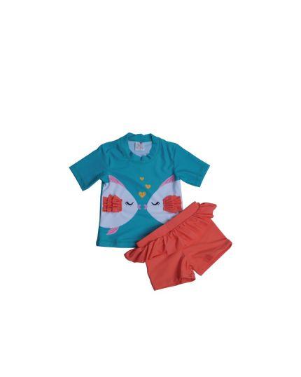 Baby Hippo Swimwear Girl Collection - Green (HTS0920-69010)
