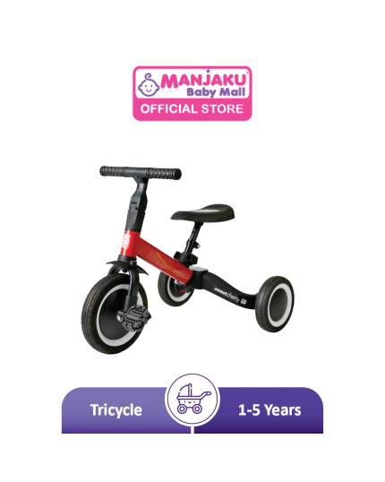 Sweet Cherry Morphy Concertible Tricycle (Model: TR001)