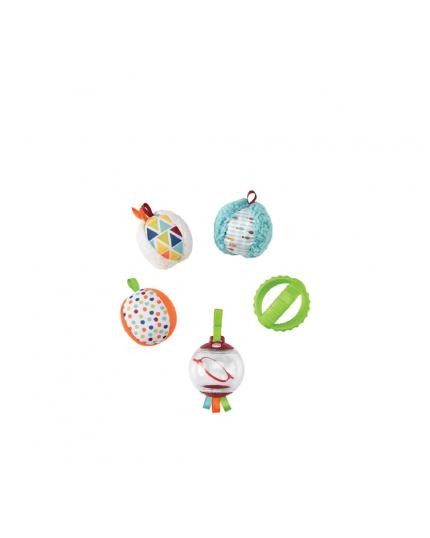 Fisher Price Five Senses Activity Balls Toys for Infant Newborn Kids (Model:FXC32)