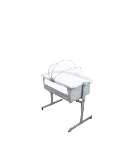 U-Baby PRO Baby Cot Beside Crib with Mattress Grey (Model: CT106)