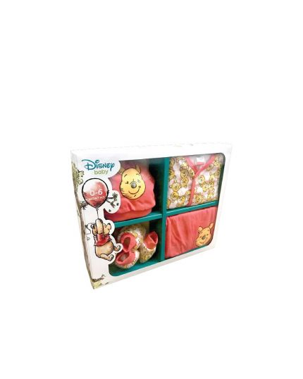 Winnie The Pooh Female 5Pcs Gift Set Pink (951-1-114-1231-45 )
