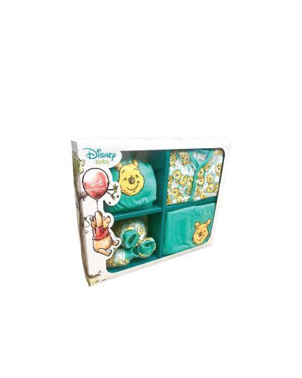 Winnie The Pooh Male 5Pcs Gift Set Green(951-1-114-1231-45)