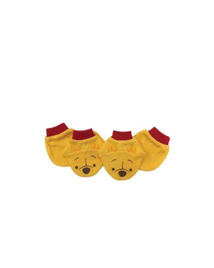 Disney Cuties Mitten & Booties Yellow (51-1-101-0295-19)