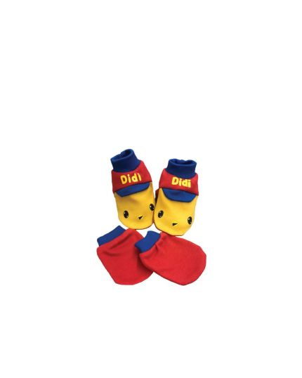Didi & Friends Mitten & Booties Red (71-1-101-0235-03)