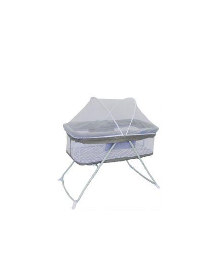 Fairworld Capri Baby Bassinet (Model:BC 801-FW/GY) - Grey
