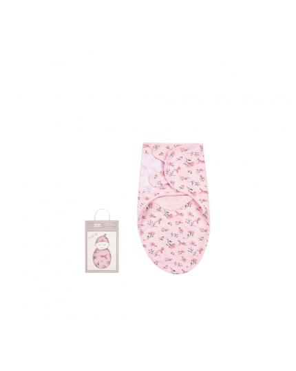 Bebe Comfort Baby Wrap Swaddle Blanket Pink - BC42018