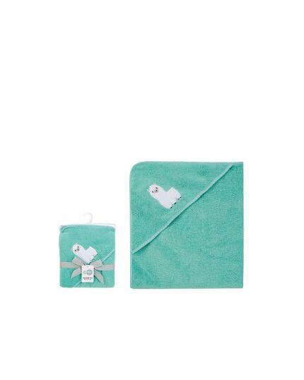 Bebe Comfort Baby Hooded Bath ToweL-GN(BC62026)