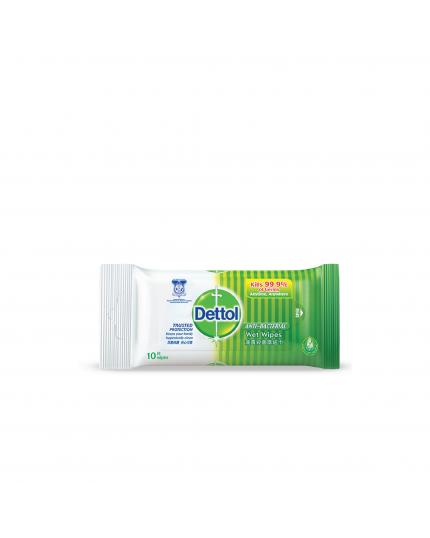 Dettol Anti-Bacterial Wet Wipes Original 10s