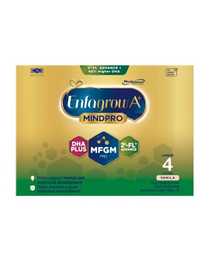 Enfagrow A+ MindPro 2FL Milk Formula Powder Step 4 - 3.48kg