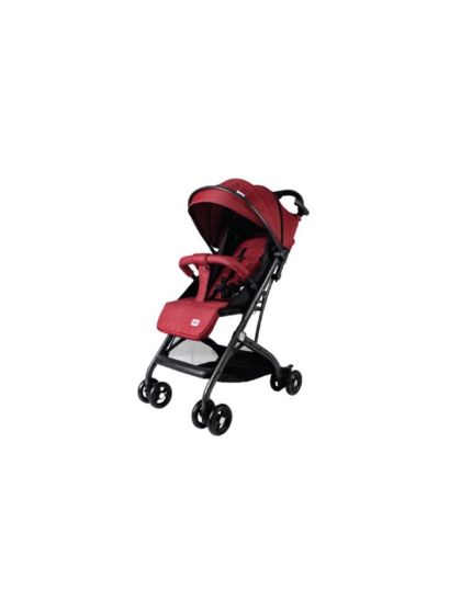 Sweet Cherry T-Bar Stroller with Lockable Front Swivel Wheels SC686 - Red/Blue