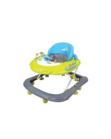 Sweet Heart Paris Baby Walker with Toys & Music Tray - Mango Lane BW6988