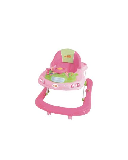 Sweet Heart Paris Baby Walker with Toy Tray (Model: BW6968) - Pink