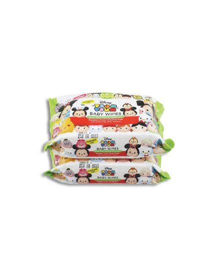 Disney Tsum Tsum Baby Wipes (2 x 30's)