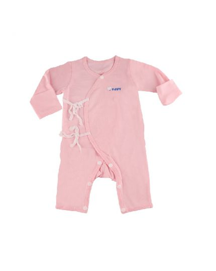 Fiffy Girl Basic Wear Jumper with Mitten Cuff Pink - 1320007